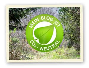 Mein Blog ist CO2-neutral