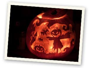 Jack O\&#039;Lantern - Krbis schnitzen