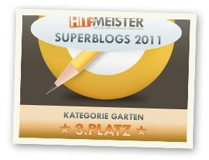 Superblogs 2011 - 3. Platz