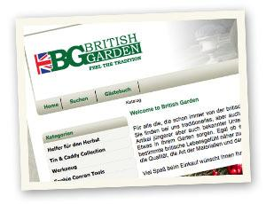 BritishGarden.at - Online Shop