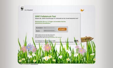 WWF Fußabdruck-Test und WWF Klima-Check