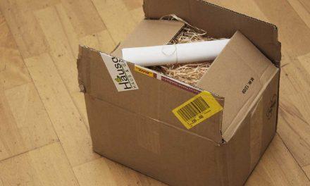 Ein Paket für den GartenGnom