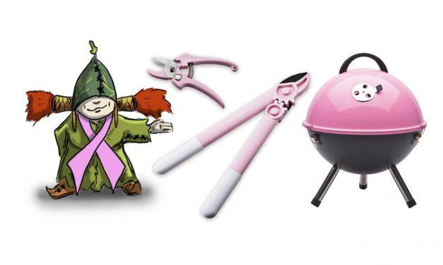 Pink Ribbon 2010 Gartenprodukte