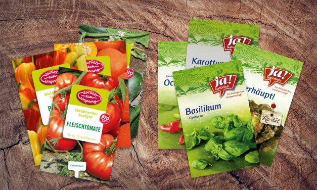 Bio-Saatgut aktuell in den Supermärkten