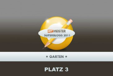 Der GartenGnom auf Platz 3 der Garten-Superblogs 2011