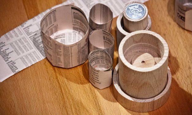Paper Potter / Paper Potmaker: Anzuchttöpfchen aus Papier