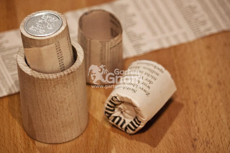 Einfache Herstellung von Papiertöpfchen mit einem Paper Potmaker.