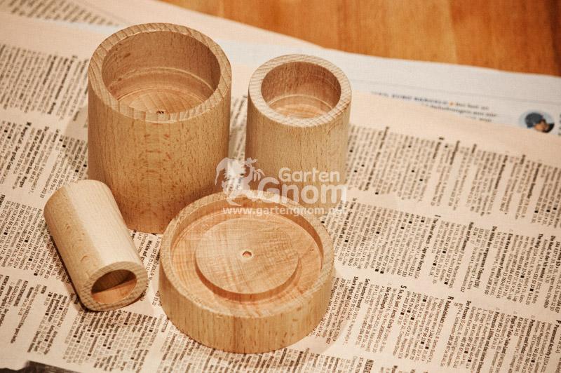 Je nach Produkt und Ausführung lassen sich verschiedene Papiertöpfchen-Größen herstellen.