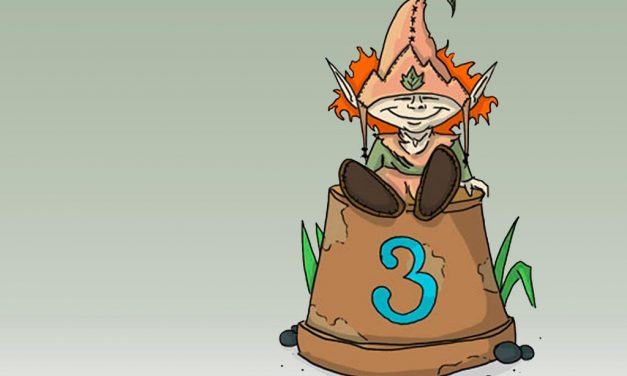 3. Geburtstag des GartenGnom-Weblogs