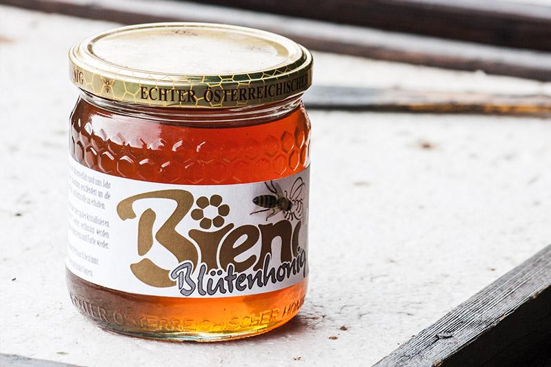 Bieno-Honig im Glas