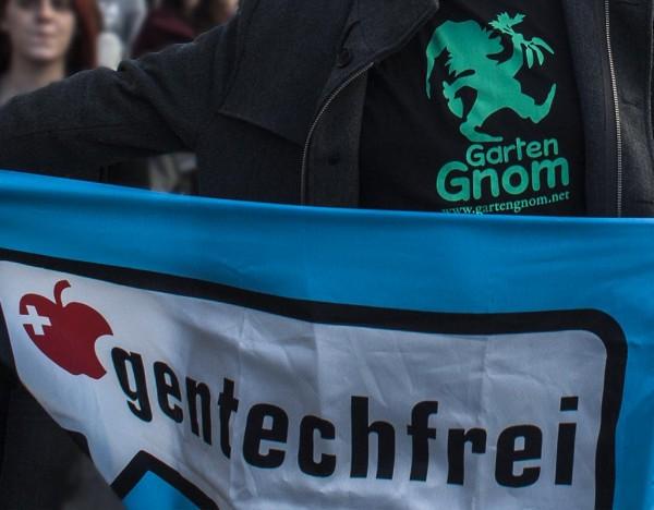 """""""March against Monsanto"""" am 12. Oktober 2013 in Wien."""