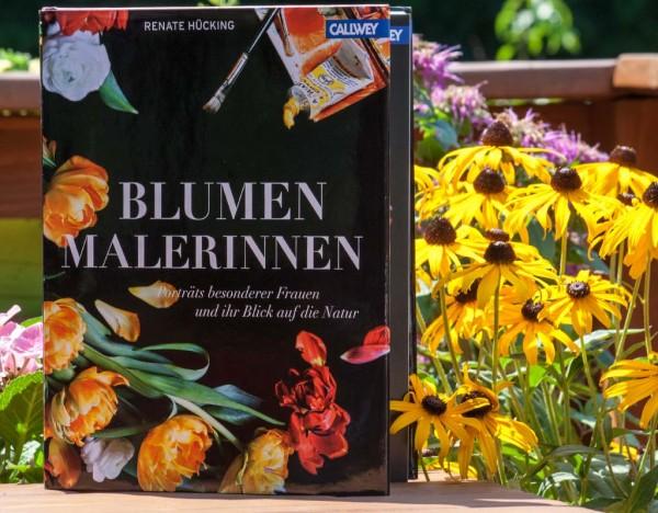Buchcover: Blumenmalerinnen