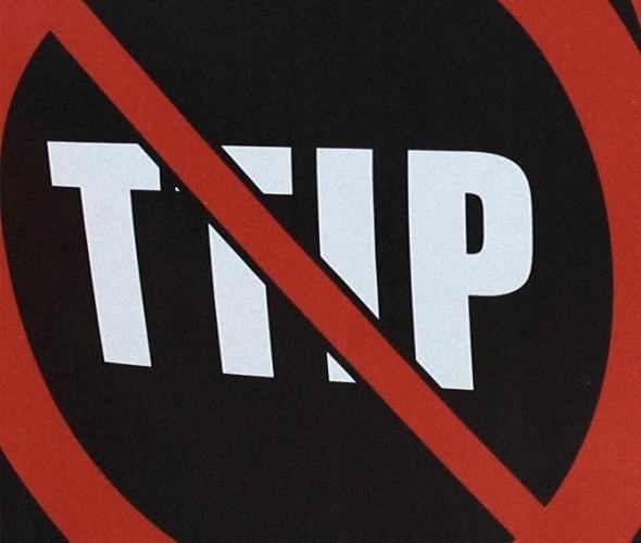 Stopp-TTIP-Symbol (TTIP durchgestrichen).