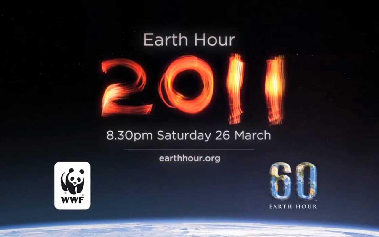 Earth Hour 2011 – Licht aus am 26. März