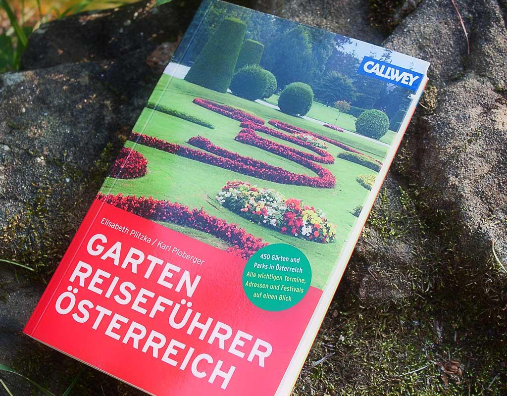 Gartenreiseführer Österreich – Buchvorstellung