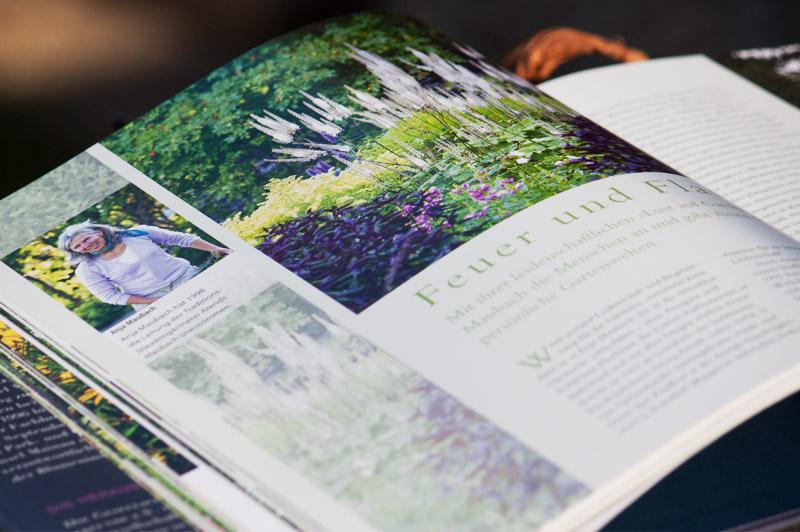 Buch-Seite: Feuer und Flamme - Buch: Stauden im Garten - Callwey Verlag