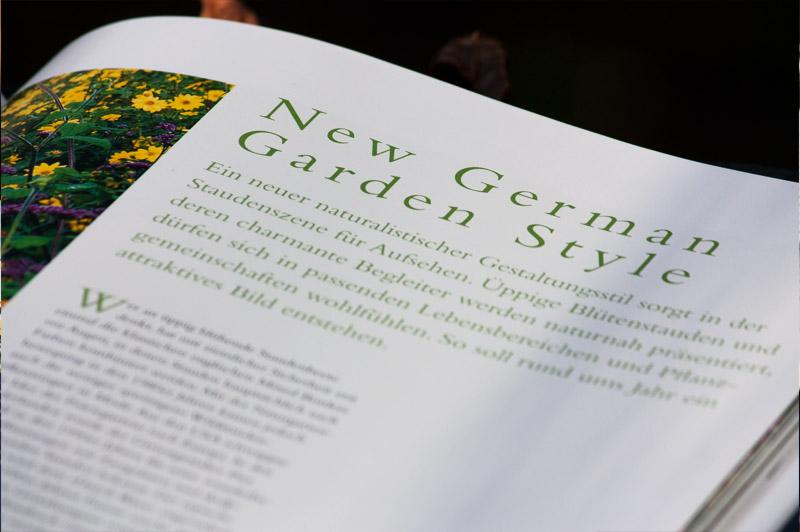 """Kapitel über New German Garden Style im Buch """"Stauden im Garten"""""""