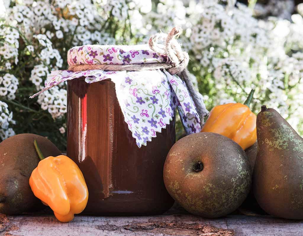 Birnen-Chili Marmelade