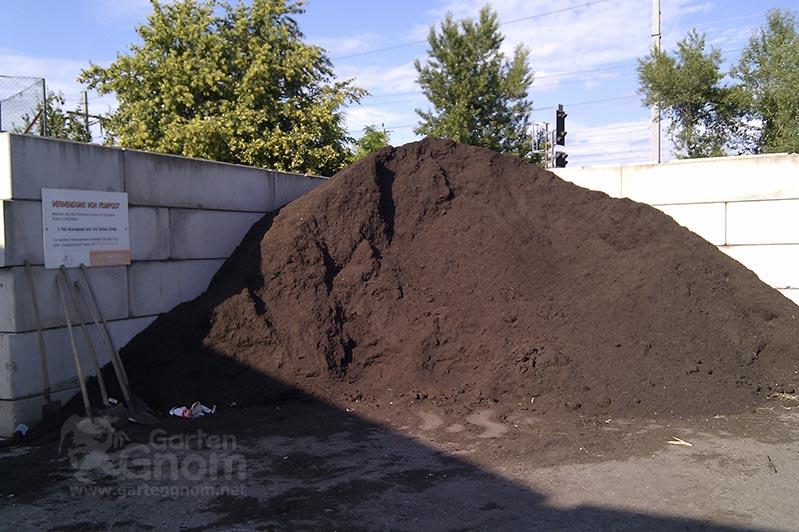 Kompost auf Wiener Mistplätzen