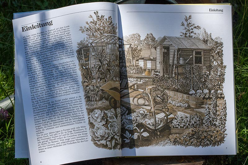 """Einleitung des Buchs """"Selbstversorgung aus dem Garten"""" von John Seymour."""